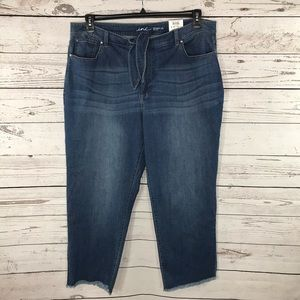 INC International Concepts Ankle Jeans Straight